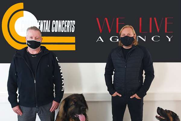 CONTINENTAL CONCERTS and WE - LIVE AGENCY join forces