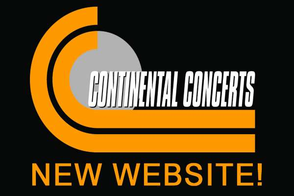 Continental Concerts has a new website!