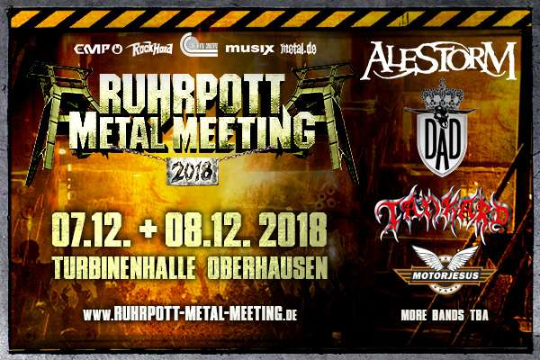 RUHRPOTT METAL MEETING – 07. + 08.12.2018 – 4th edition
