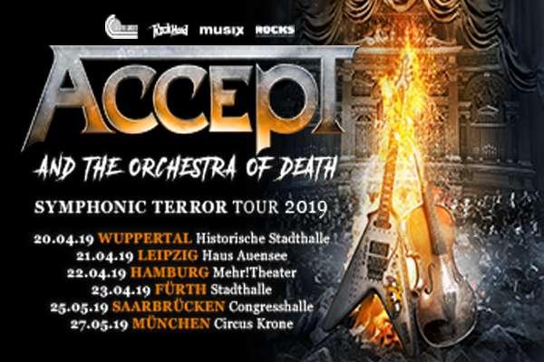 ACCEPT kündigt Orchester-Tour für 2019 an!