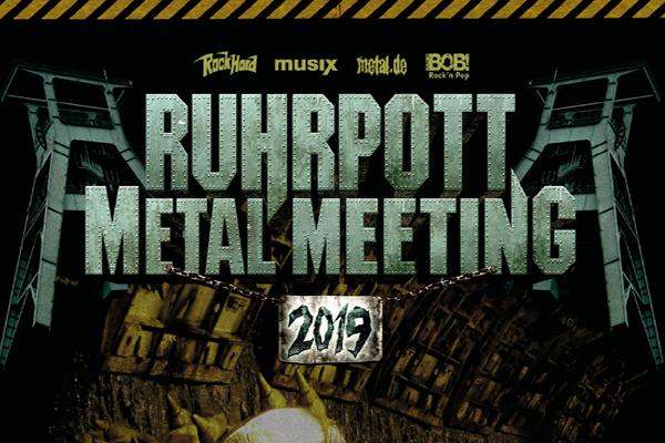 RUHRPOTT METAL MEETING – die ersten Bands sind bestätigt!
