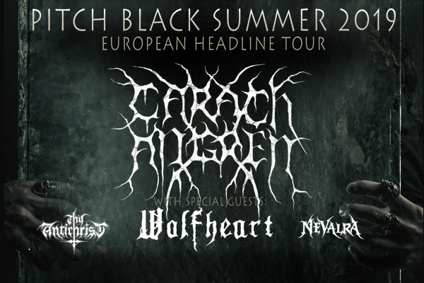 """Carach Angrenhave announced the """"Pitch Black Summer 2019"""" Tour!"""