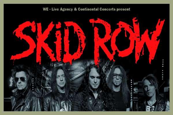 Skid Row - United World Rebellion Tour 2019