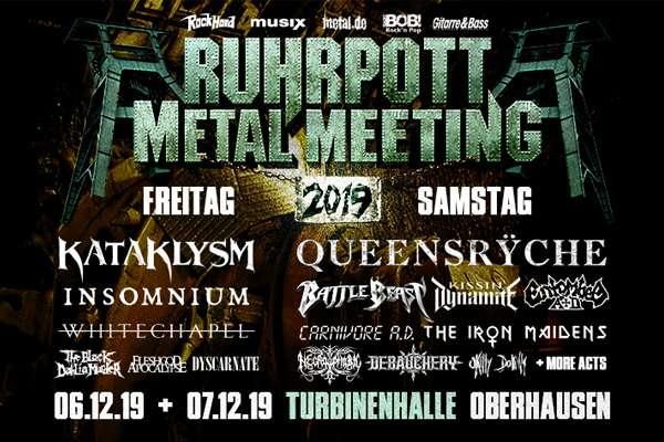 RUHRPOTT METAL MEETING - The Iron Maidens bestätigt - Tagesaufteilung