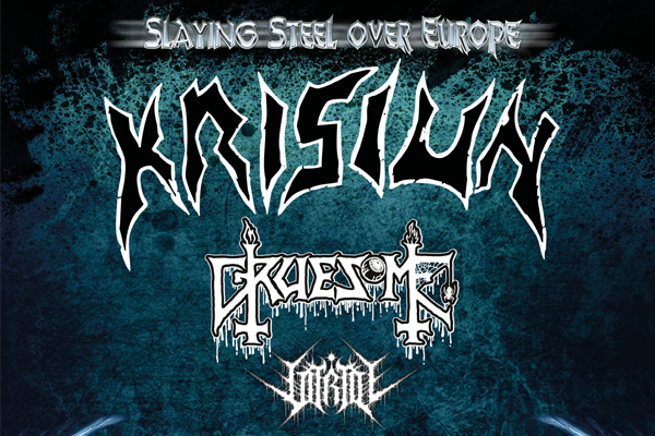 Slaying Steel Over Europe tour announced