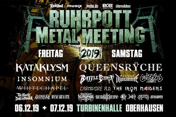RUHRPOTT METAL MEETING - das Lineup ist komplett!