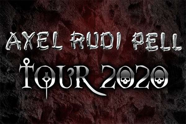 AXEL RUDI PELL announced 2020 tours!