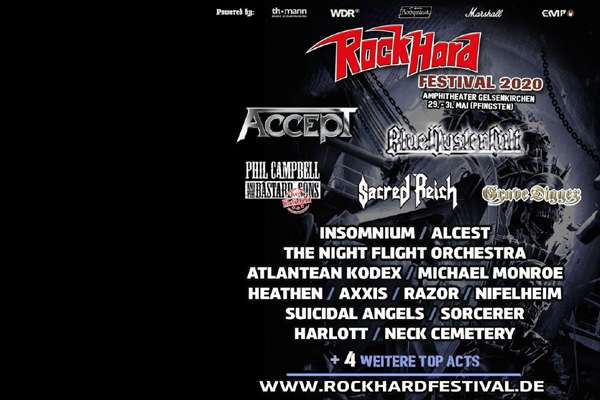 ROCK HARD FESTIVAL 2020 - more bands announced